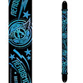 Guitar Strap Perri's Leathers Ltd Aerosmith Poly Strap Black