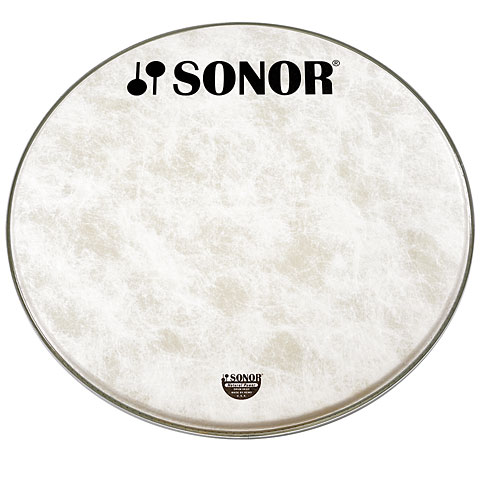 Sonor Natural 22  Standard Logo Front Head