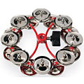 Latin Percussion City Hi-Hat Jingle Ring Double « Tambourine