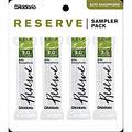Blätter D'Addario Reserve Altsax Sampler Pack 3,0/3,0+/3,0+/3,5