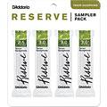 D'Addario Reserve Tenorsax Sampler Pack 2,5/3,0/3,0/3,5  «  Blätter