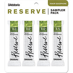 D'Addario Reserve Tenorsax Sampler Pack 3,0/3,0+/3,0+/3,5 « Anches