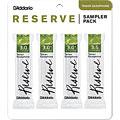 Blätter D'Addario Reserve Tenorsax Sampler Pack 3,0/3,0+/3,0+/3,5