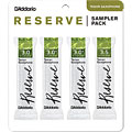 Rieten D'Addario Reserve Tenorsax Sampler Pack 3,0/3,0+/3,0+/3,5