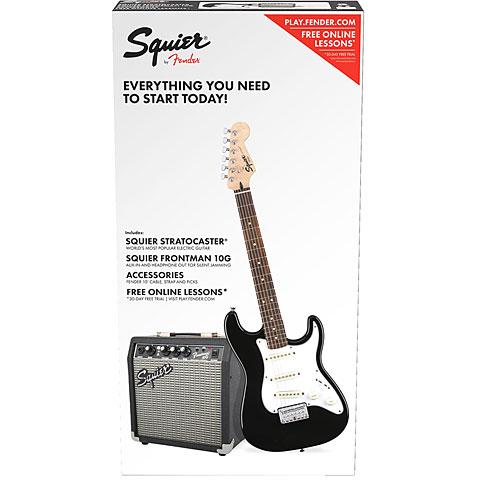Squier Strat Pack SSS BLK