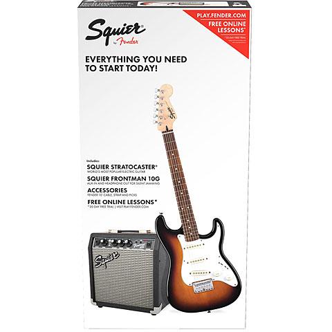 Squier Strat Pack SSS BSB