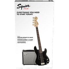 Squier Affinity PJ Bass Pack BLK « Bas elektryczny w zestawie