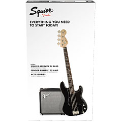 Squier Affinity PJ Bass Pack BLK « Basgitaar Set