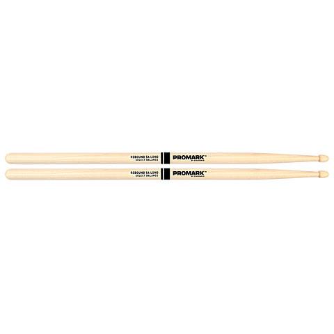 Baquetas para batería Promark Rebound Balance Hickory 5A Long Acorn Wood Tip