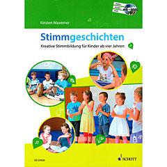 Schott Stimmgeschichten - Kreative Stimmbildung für Kinder ab vier Jahren « Manuel pédagogique