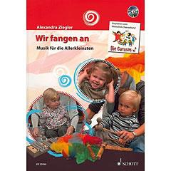 Schott Wir fangen an - Musik für die Allerkleinsten « Libros didácticos