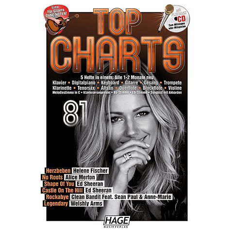 Hage Top Charts Bd.81