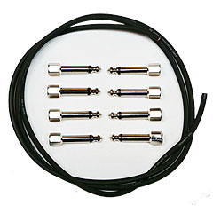 Evidence Audio SIS KIT 8 ST black straight « Patch Cable