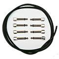 Câble patch Evidence Audio SIS KIT 8 ST black straight