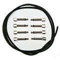 Cable para patch Evidence Audio SIS KIT 8 ST black straight