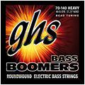 Cuerdas bajo eléctrico GHS Boomers 070-140 4H-B-DYB