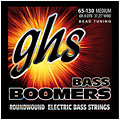Струны для электрической бас-гитары  GHS Boomers 065-130 4 m-B-DYB