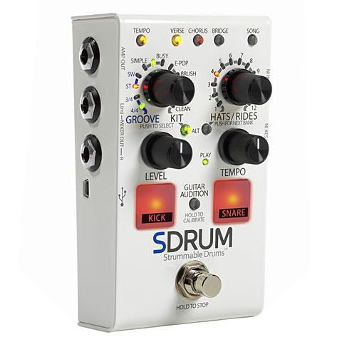 DigiTech SDRUM Strummable Drums