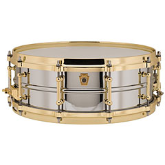 "Ludwig Chrome-Over-Brass 14"" x 5"" Snare « Snare"