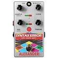 Effektgerät E-Gitarre Alexander Syntax Error