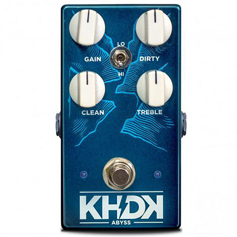 Pedal bajo eléctrico KHDK Abyss Bass Overdrive