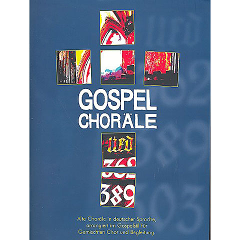 Notas para coros Zebe Gospel-Choräle