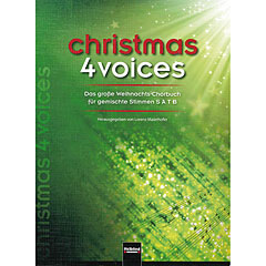 Helbling Christmas 4 Voices « Partitions choeur