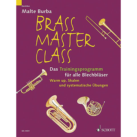 Schott Brass Master Class Das Trainingsprogramm