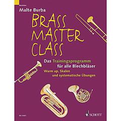 Schott Brass Master Class Das Trainingsprogramm « Libros didácticos