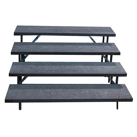 Intellistage Chorbühne 4-Stufen