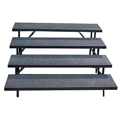 Intellistage 4 Tier Straight Choral Risers « Stage Platform