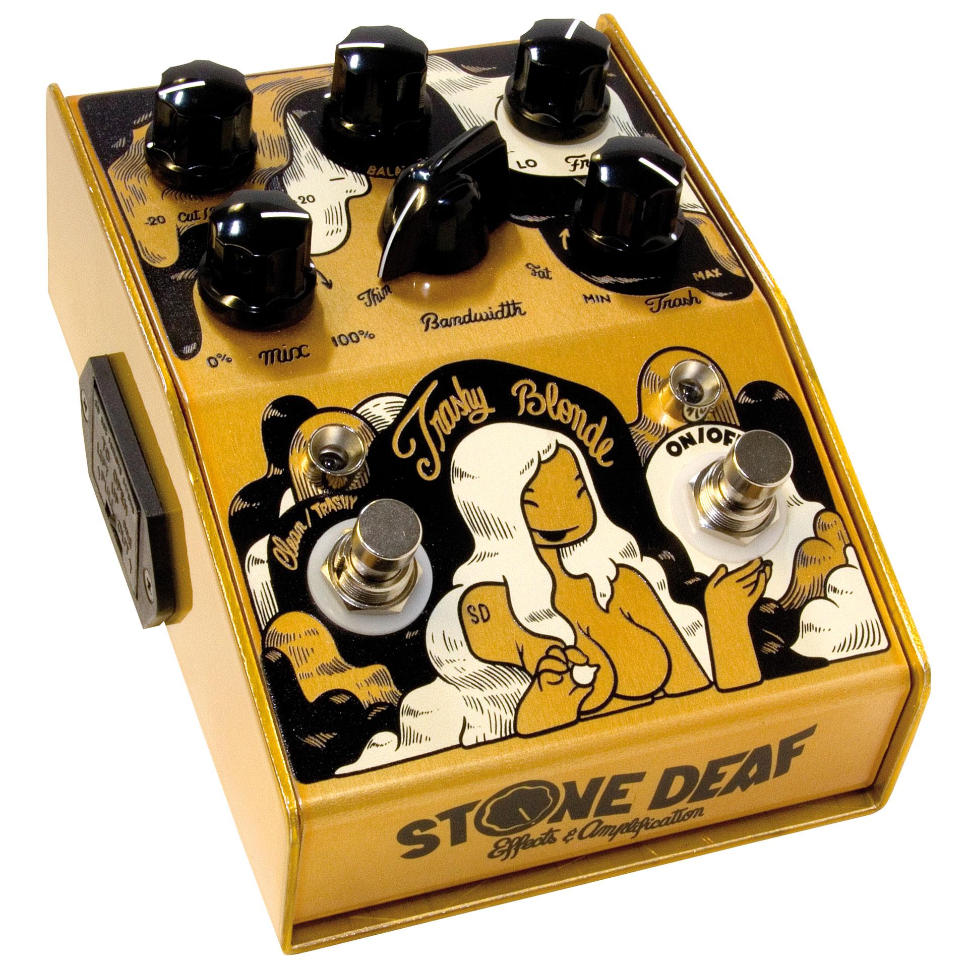 stone deaf trashy blonde guitar effect musik produktiv. Black Bedroom Furniture Sets. Home Design Ideas