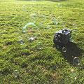 Máquina de burbujas American DJ Bubbletron GO