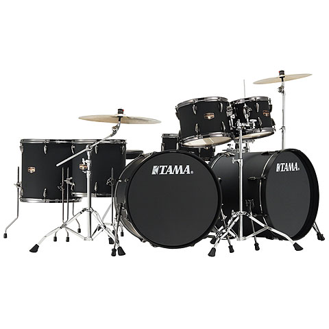 Tama Imperialstar 2 x 22  Blacked Out Black