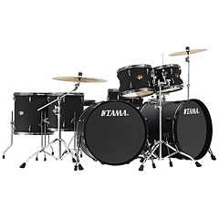 "Tama Imperialstar 2x 22"" Blacked Out Black « Schlagzeug"