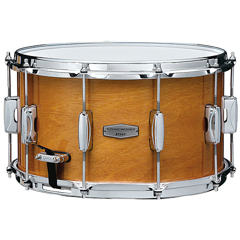 Tama Soundworks 14  x 8  Gloss Amber Kapur Snare