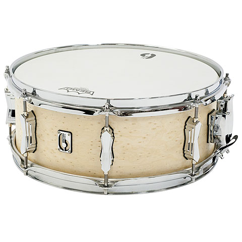 British Drum Co. British Drum Co. Lounch 14  x 5,5  Wiltshire White