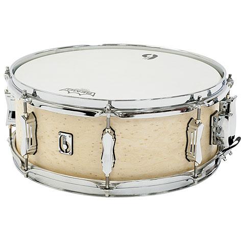 """Snare Drum British Drum Co. British Drum Co. Lounge 14"""" x 5,5"""" Wiltshire White"""