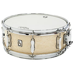 "British Drum Co. British Drum Co. Lounch 14"" x 5,5"" Wiltshire White « Snare Drum"