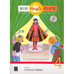 Universal Edition Mini Magic Flute Band 4 « Libros didácticos