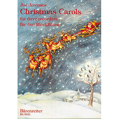 Recueil de Partitions Bärenreiter Christmas Carols