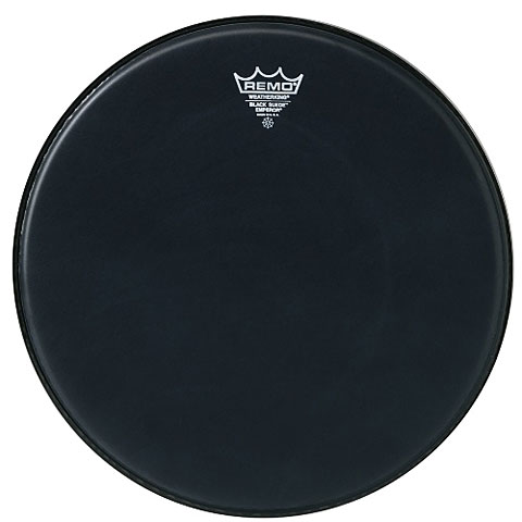 "Tom-Fell Remo Emperor Black Suede 13"" Tom Head"