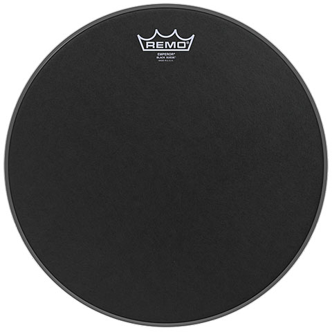 Remo Emperor Black Suede 20  Bass Drum Head