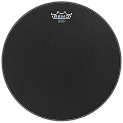 "Remo Emperor Black Suede 20"" Bass Drum Head « Bass-Drum-Fell"