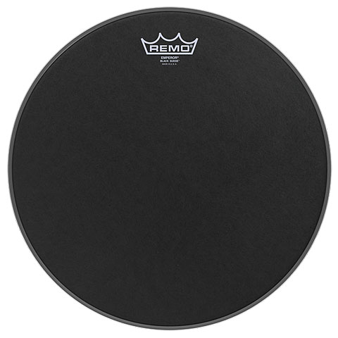 Remo Emperor Black Suede 26  Bass Drum Head