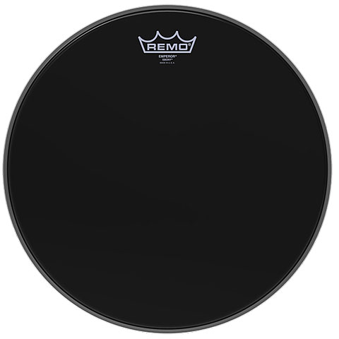 Remo Emperor Ebony 6  Tom Head