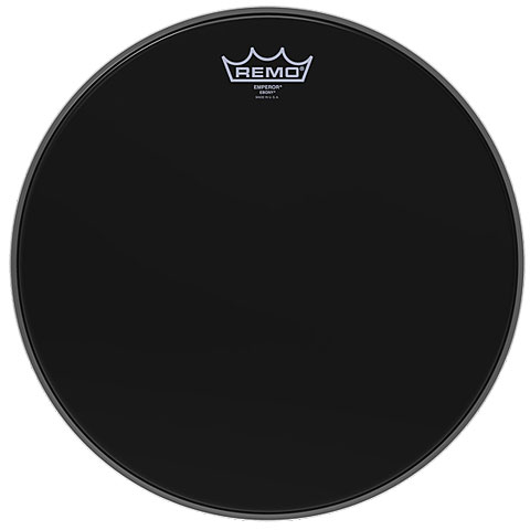 Remo Emperor Ebony 8  Tom Head