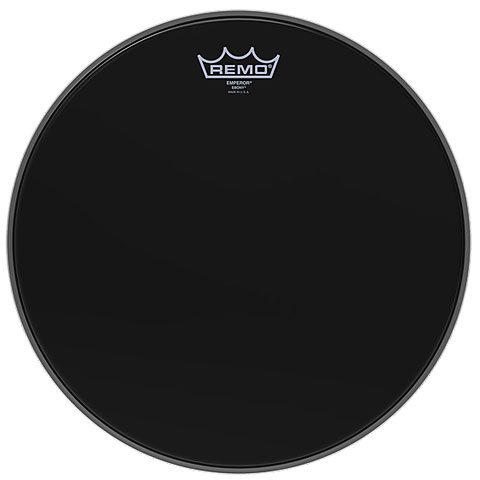 Remo Emperor Ebony 10  Tom Head