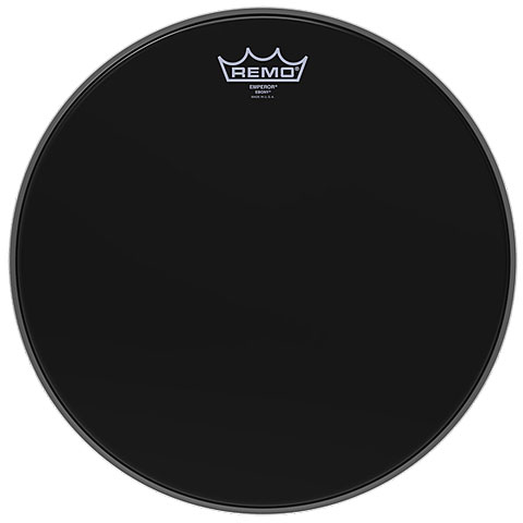 Remo Emperor Ebony 12  Tom Head