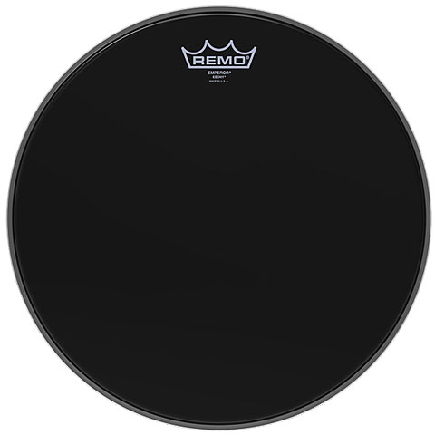 Remo Emperor Ebony 13  Tom Head